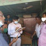 কুমিল্লার চকবাজারে আলুর দোকানগুলোতে অভিযান: ৩ প্রতিষ্ঠানকে ৮ হাজার টাকা জরিমানা