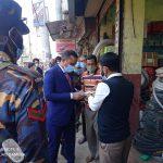 কুমিল্লা নগরীতে ফুটপাত দখল মুক্ত না করায় ভ্রাম্যমাণ আদালতে জরিমানা