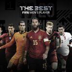 ফিফা বর্ষসেরার ফুটবলারের সংক্ষিপ্ত তালিকা প্রকাশ