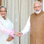 বাংলাদেশ ও ভারতের মধ্যে ৭ টি সমঝোতা চুক্তি সই এবং ভার্চুয়াল বৈঠক