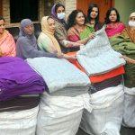 কুমিল্লা মহানগর মহিলা আ'লীগের উদ্যোগে অসহায়দের মাঝে শীতবস্ত্র বিতরণ