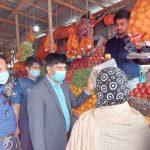 ব্রাহ্মণপাড়ায় ভোক্তা অধিদপ্তরের তদারকি অভিযান, ৭ প্রতিষ্ঠানকে জরিমানা
