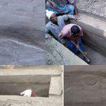 কবর খুঁড়তেই এক পাশে বিসমিল্লাহ ও অন্য পাশে মিম হরফের ছাপ ভেসে উঠে