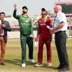 ওয়েস্ট ইন্ডিজের বিপক্ষে টস জিতে ফিল্ডিংয়ে বাংলাদেশ