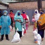 ১৫০ জন দরিদ্র হিজড়া জনগোষ্ঠীর মধ্যে খাদ্য সামগ্রী বিতরণ করেছে বন্ধু সোশ্যাল
