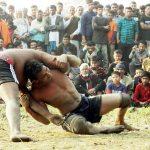 মুরাদনগরে গ্রাম-বাংলার কুস্তি খেলা অনুষ্ঠিত