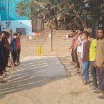 মরহুম আব্দুল মতিন সর্দার টিভিকাপ শর্ট বাউন্ডারি ক্রিকেট টুর্নামেন্টের উদ্বোধন