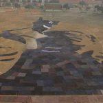 ২২০ ফিট দৈর্ঘ্যের 'কম্বলচিত্রে বঙ্গবন্ধু'র প্রতিকৃতি