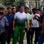 কুমিল্লায় ২০ বছর পর ক্রিকেটের মাঠে কণ্ঠশিল্পী আসিফ আকবর