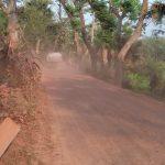 বরুড়ায় ধীরগতিতে চলছে সড়ক নির্মাণ কাজ: ধূলাবালিতে অতিষ্ঠ এলাকাবাসী