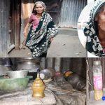 ৯০ বছরের আয়েশা বেগম প্রতিবন্ধী ছেলেকে নিয়ে কাটাচ্ছেন জরাজীর্ণ জীবন