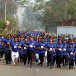 শেখ মুজিব ঢাকা ম্যারাথনে অংশগ্রহণ করলেন কুমিল্লার ইস্পাহানী পাবলিক স্কুল অ্যান্ড কলেজ