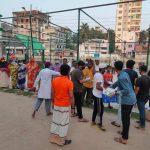 'আমার কুমিল্লা' সংগঠনের উদ্যোগে ইফতার ও মাক্স বিতরণ