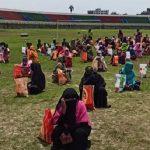 চাঁদপুরে ৫ শতাধিক অসহায় পরিবার পেল জেলা প্রশাসনের ত্রাণ সহায়তা