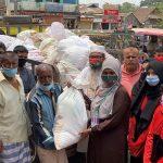 কুমিল্লা নগরীতে তায়কোয়ানডো এসোসিয়েশনের ইফতার ও খাদ্য সামগ্রী বিতরণ