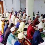 কুমিল্লায় মসজিদে মসজিদে স্বাস্থ্যবিধি মেনে ঈদের জামাত অনুষ্ঠিত