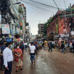 কুমিল্লায় স্বাস্থ্য বিধি নিশ্চিতে নগরীজুড়ে ৯ ম্যাজিস্ট্রেটের অভিযান