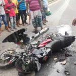 কুমিল্লায় সড়ক দুর্ঘটনায় মোটরসাইকেল চালক নিহত