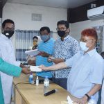 কুমিল্লায় সদর এমপির পক্ষ থেকে ৪৫ প্রতিষ্ঠানকে ৩০ লাখ টাকার চেক প্রদান