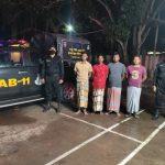 চৌদ্দগ্রামে ২৮ কেজি গাঁজাসহ ৪ জনকে আটক করেছে র্যাব