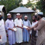 বরুড়ায় ইসলামী যুব আন্দোলনের উদ্যোগে টর্নেডোয় ক্ষতিগ্রস্তদের মাঝে আর্থিক সহায়তা প্রদান