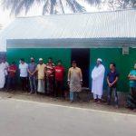 বরুড়ায় ছাত্রলীগ নেতার উদ্যোগে গৃহহীন সকিনা বেগমের ঘর নির্মাণ